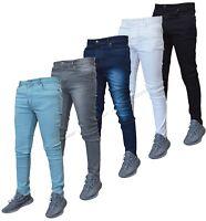 New Mens G72 Denim Super Stretch Skinny Slim Fit Jeans All Waist & Leg Sizes
