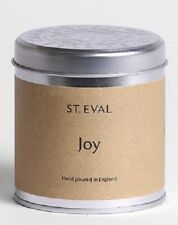 St Eval JOY Scented Candle in a Tin