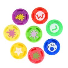 8 × Replacement Analog Controller Joystick Thumb Stick Grip Cap Cover For Switch