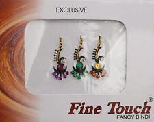 Bindi bijou de peau front Bollywood multicolore  DOT TILAK IND-R 950