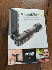 Rode VideoMic Me Directional Microphone for IOS and Android Smart PHONES