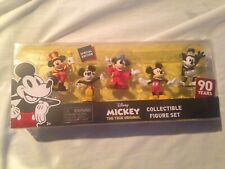Nip Mickey Mouse 90th Anniversary Collectible Figure Set -Special Edition-2018