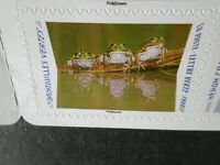 FRANCE 2020, timbres AUTOADHESIFS ANIMAUX, GRENOUILLES VERTES, neuf**, MNH