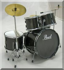 PEARL Miniature Drum Set Drumset ( for decoration only )