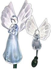 Solar Powered Angel w/ Fiber Optic Wings Garden Stake Color Change LED Light