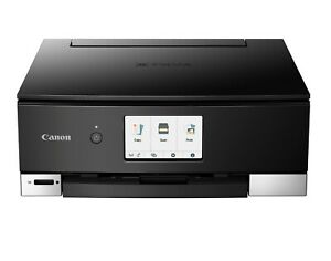 Canon Pixma TS8320 TS8322 INKJET  All-In-One Printer - Black    CD / DVD Printer