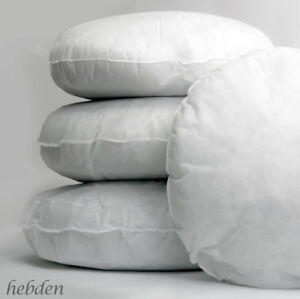 Hollowfibre Filling Polyester Round Cushion Pads, Inserts, Scatters 2Qty