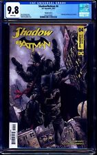Shadow Batman #4 CGC 9.8 OneStopComicShop Exclusive Variant by Johnny Desjardins