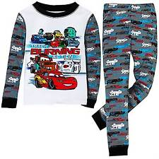 Disney Store Cars Lightning McQueen Mater Pajamas Boys Size 4
