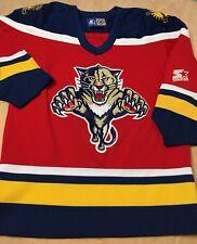 Vintage Starter NHL Florida Panthers Hockey Jersey Youth Size S/M