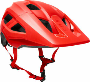 NEW Fox Racing Youth Mainframe Helmet - Fluorescent Red One Size