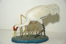 "Danbury Mint ""Graceful Wader"" Bird Figurine by Jeff Rechin"