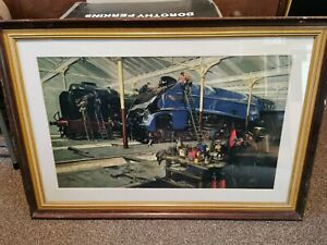 Terence Cuneo Train Pictures