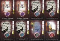 Walking Dead Season 4 Costume Wardrobe Card Lot Terminus M10.3 M18 M30 M43 M49 +