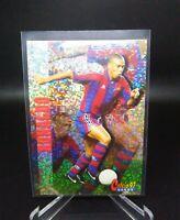 1997 Panini Calcio Eurostars Ronaldo Luis Brazil Barcelona Inserts Very Rare