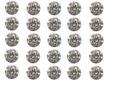 25pc 0.45ct Total 1.6mm J Color I Clarity Natural Loose Diamond Nontreated Round
