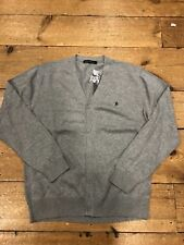 FRENCH CONNECTION® Button Cardigan/Grey Melange - XL  WAS £49.99