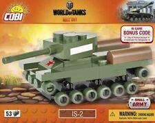 COBI NANO TANK IS-2 Panzer World of Tanks WWII Small Army Legokompatibel53 Teile