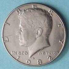 1982 D JFK HALF DOLLAR (#1)