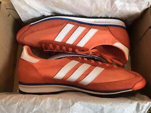 Adidas SL72...Size 7.5uk.(Orange) BNIBWT