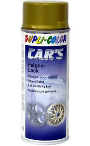 gold Lackspray Dupli-Color Rallye Lack 400ml Spray Spraydose Felgengold Autolack