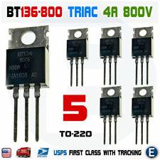 2 PC bt136s-800e TRIAC 4a 800v NXP DPAK NEW