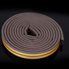 10M D FOAM DRAUGHT DRAFT EXCLUDER TAPE WEATHERPROOF SEAL STRIP ROLL DOOR WINDOW