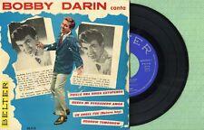 BOBBY DARIN Beautiful Baby / Nature Boy BELTER 50.512 Pressing Spain 1961 EP EX