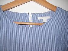 Cos Bluse Gr 38 blau weiss gestreift