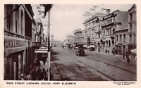 South Africa - PORT ELIZABETH, Main Street, Looking South - Real Photo used 1909