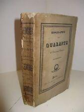 MERY BIOGRAPHIE DES QUARANTE 1826 ACADEMIE FRANCAISE LEMERCIER MONTESQUIOU Niort
