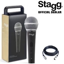 Stagg SDM50 Professional Dynamic Handheld Microphone With Carry Case & XLR Lead