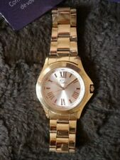 PIA JEWELLERY ROSE GOLD METAL STAINLESS STEEL LINK WATCH. BEAUTIFUL QUALITY BNIB