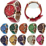 Geneva romano números reloj mujeres reloj Moda analógico cuarzo reloj de pulsera