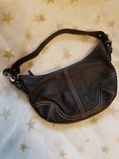 Black Coach shoulder bag