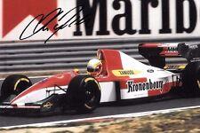 Olivier Beretta SIGNED , F1 Larrousse-Ford LH94,  San Marino GP  Imola 1994