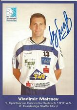 Vladimir Maltsev - Handball - Concordia Delitzsch - Autogrammkarte