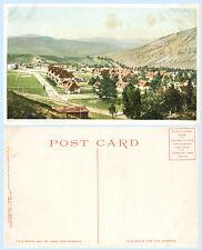 Aerial View Ft Yellowstone Wyoming circa 1920s Postcard