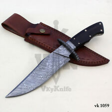 Damascus Steel Bowie  Handmade Hunting Knife  - 13.00 Inches   vk1059