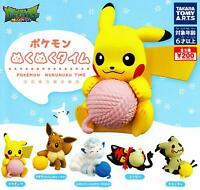 takaratomy-arts Pokemon cosily time Gashapon 5set mascot Figures Complete set