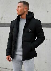 Gym King Mens Core Tech Puffer Jacket - Black