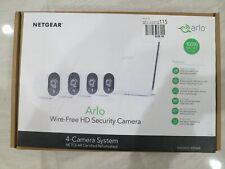 Arlo VMS3430-100NAR Security Camera System 4 HD Wire-Free Cameras Refurb