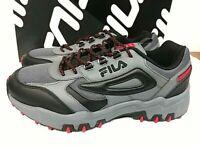 Fila Men's Reminder Athletic Running Hiking Shoes Grey