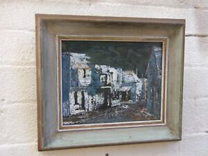 Australian Artist Claudia Forbes Woodgate Orig. Oil Painting Abstract (1925-2008