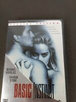 Basic Instinct (DVD, 2001, Special Edition, Unrated, Director's Cut)