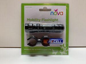 NOVA Medical Products Mobility Flashlight, Black,