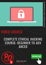 Complete Ethical Hacking Course: Beginner to Advanced video training tutorial