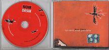 NOIR DESIR CD single LE VENT NOUS PORTERA 2002 3 TRACCE + VIDEO