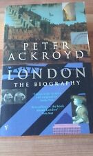 Large Paperback Book London The Biography Peter Ackroyd