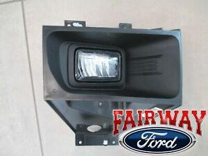 17 thru 19 Super Duty F250 F350 OEM Ford Fog Lamp Light RH Passenger - LED